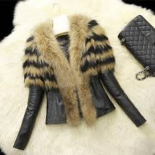 2019 s xl women faux fur pu leather jackets and coat womens autumn winter fur jackets long rac collar coats from missher 26 99 dhgate com