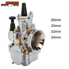 Motorcycle For <b>PWK 21 24</b> 26 28 30 32 34mm <b>Universal</b> Carburetor ...