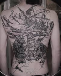татуировки смешные картинки и другие приколы комиксы гиф