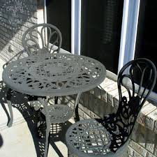 painting wrought iron furniture. enjoy the view how to paint wrought iron furniture painting d