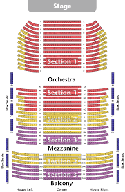 Clark State Performing Arts Center Seating Chart Seating Chart The Springfield Symphony Orchestra