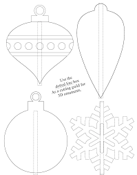So place the dot on the horizon line, this will determine our vanishing point. 3d Shrinky Dink Christmas Ornaments Free Printable Stlmotherhood