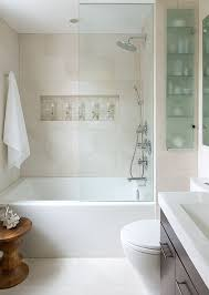bathroom remodel small space ideas. Brilliant Space Modern Bath Tub Small Bathroom Remodeling Decorating Ideas Glass Wall For Remodel Space