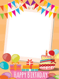 frame happy birthday png png transpa library