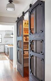 laundry sliding barn doors for kitchen pantry