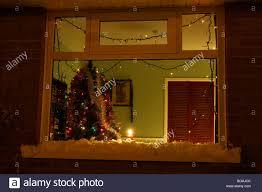 Windows Christmas Lights Around Windows Decor Christmas Tree With Christmas Tree In Window
