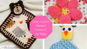 Free Crochet Lovey Pattern Classy 48 Lovey Crochet Blanket Patterns For Baby AllFreeCrochet