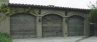 reclaimed barnwood garage door