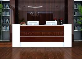 office counter desk. Office Counter Desk Reception With Modern Table Front Design Counters A