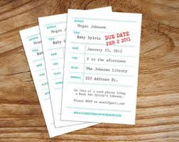 Storybook Themed Baby Shower Invitations  THERUNTIMECOMLibrary Themed Baby Shower Invitations