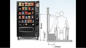 Ada Compliant Vending Machines