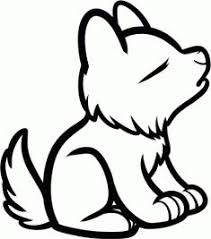 easy animals to draw.  Animals Animals  How To Draw A Howling Wolf For Kids With Easy To