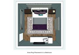 how to place area rugs in bedroom rug placement size an best toronto living room area rug