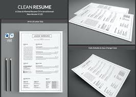 Clean Modern Resume Modern Resume Template Word Clean Resume Template Free Ms Word