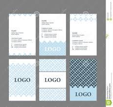 Business Card Simple Design Stock Illustration Illustration Of