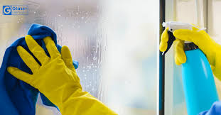 how to clean glass shower doors and get