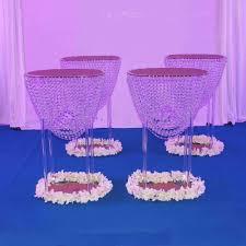 Großhandel Tischdekoration Große Elegante Mode Kristall Kronleuchter Steht Hochzeit Blume Herzstück Von Sweetweddingprops 4000 Auf Dedhgatecom