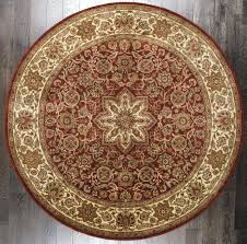 8 foot round rug ville braided rugs area