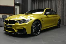Austin Yellow BMW M4 Laden With M Performance Parts Is Near ...
