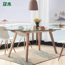 creative wooden furniture. And Wood Furniture Modern Minimalist Scandinavian Rectangular Glass Dining Table Full Creative CZ007A-in Nail Tables From On Aliexpress.com Wooden D