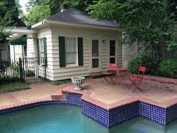 patio with pool. Wonderful Patio Very Private Side View Of Cottage Which You Can Step Out Your Door And  Sit On Patio With Pool W