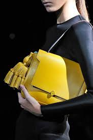 genuine italian leather handbags whole custom logo wl912 yellow