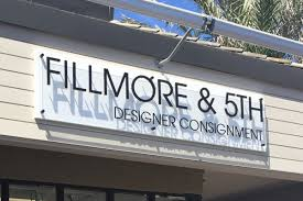 Gallery Exterior Signs Fillmore Th Boutique Storefront Sign - Exterior business signs