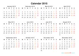 Download Printable Calendar 2015 Printable Yearly Calendar 2015 Zaxa Tk