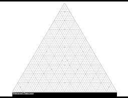Printable Triangular Graph Paper Templates At