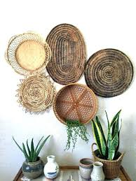 wicker wall decor stylish design basket wall decor also woven art images ideas chic wicker decorative metal rattan