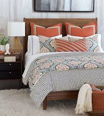 niche luxury bedding by eastern accents bowie collection with decorations 2