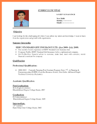 How To Make Resume For Job Certification Resume Format Example Resume For Job Resume Example 2