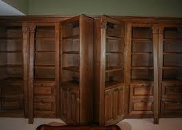 Hidden Double Bookcase Doors in Library