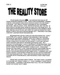 best reality store images credit cards completed reflective essay 2 acircmiddot career exploration7