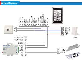 uhppote 125khz em id metal case rfid access control keypad with rfid access control wiring diagram at Rfid Access Control Wiring Diagram