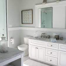 chair rail bathroom. Plain Chair Beachy Bathroom And Chair Rail O