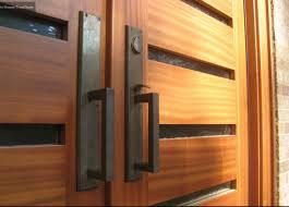 modern front double doors. Awesome Modern Double Door Closeup Front Doors