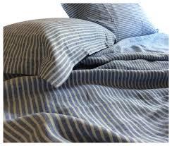superior custom linens blue ticking stripe duvet cover twin