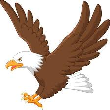 hawk clipart. Perfect Clipart Cartoon Eagle Flying In Hawk Clipart 123RFcom