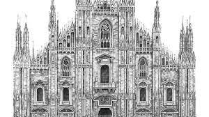 famous architectural buildings black and white. Brilliant Architectural Design Is In The Details Photorealistic Drawings Of Famous European  Buildings  YouTube With Architectural Black And White