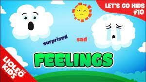 Bé học tiếng Anh về Cảm xúc - Feelings |[Trọn bộ 20 chủ đề từ vựng sách  Let's go] [Lioleo Kids] - YouTube