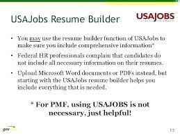 Usa Jobs Resume Cool Usajobs Resume Builder Unique Usajobs Resume Builder