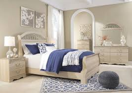Ashley Catalina Antique White Queen Sleigh Bedroom Set on sale at ...