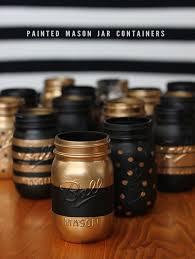 diy painted patterned mason jar tutorial bubby and bean