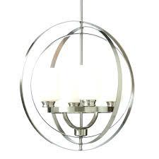 brushed nickel crystal chandelier light also
