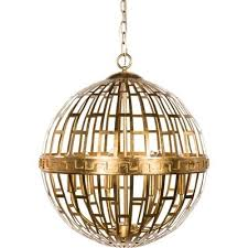 pavillion 6 light globe chandelier by wayfair