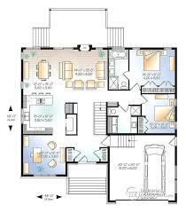 modern home design master open floor plan office or bedroom 3 2 car garage small house