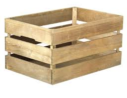 Stackable Antique Style Wooden Crate Decorative Shelving