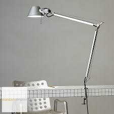 artemide tolomeo classic table lamp with table clamp