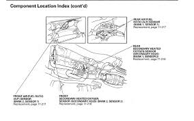 oxygen sensor location. 2005 v6 honda accord oxygen sensor hondatech forum: o2 location at wiring diagram -
